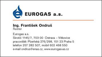 EUROGAS a.s. - Ing. František Ondruš