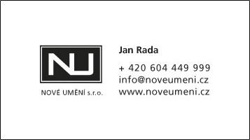 NOVÉ UMĚNÍ s.r.o. - Jan Rada