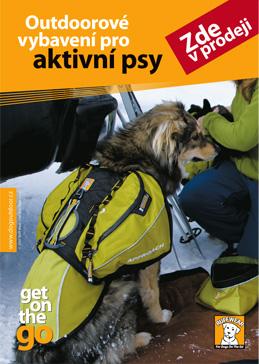 Outdoorové vybavení pro aktivní psy