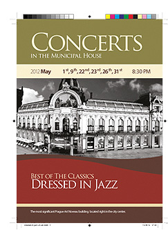 Concerts in the Municipal House - Dressed in Jazz