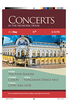 Concerts in the Municipal House - The Four Seasons, Hungarian Dance no.5, Gypsy Airs op.20