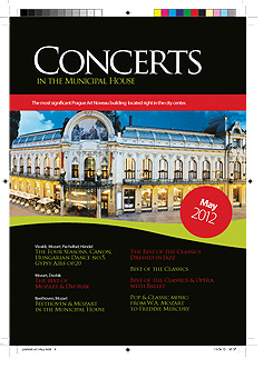 Concerts in the Municipal House - May 2012