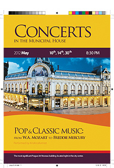 Concerts in the Municipal House - Pop & Classic Music