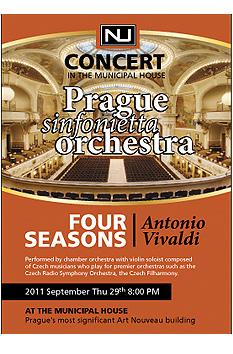 Prague sinfonietta orchestra- Four Seasons